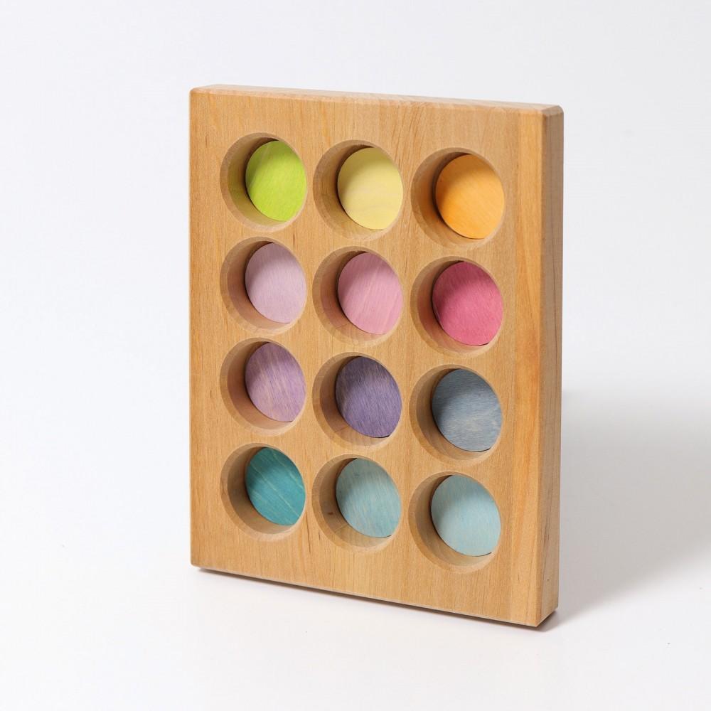 Grimms sorting board pastelfarver-31
