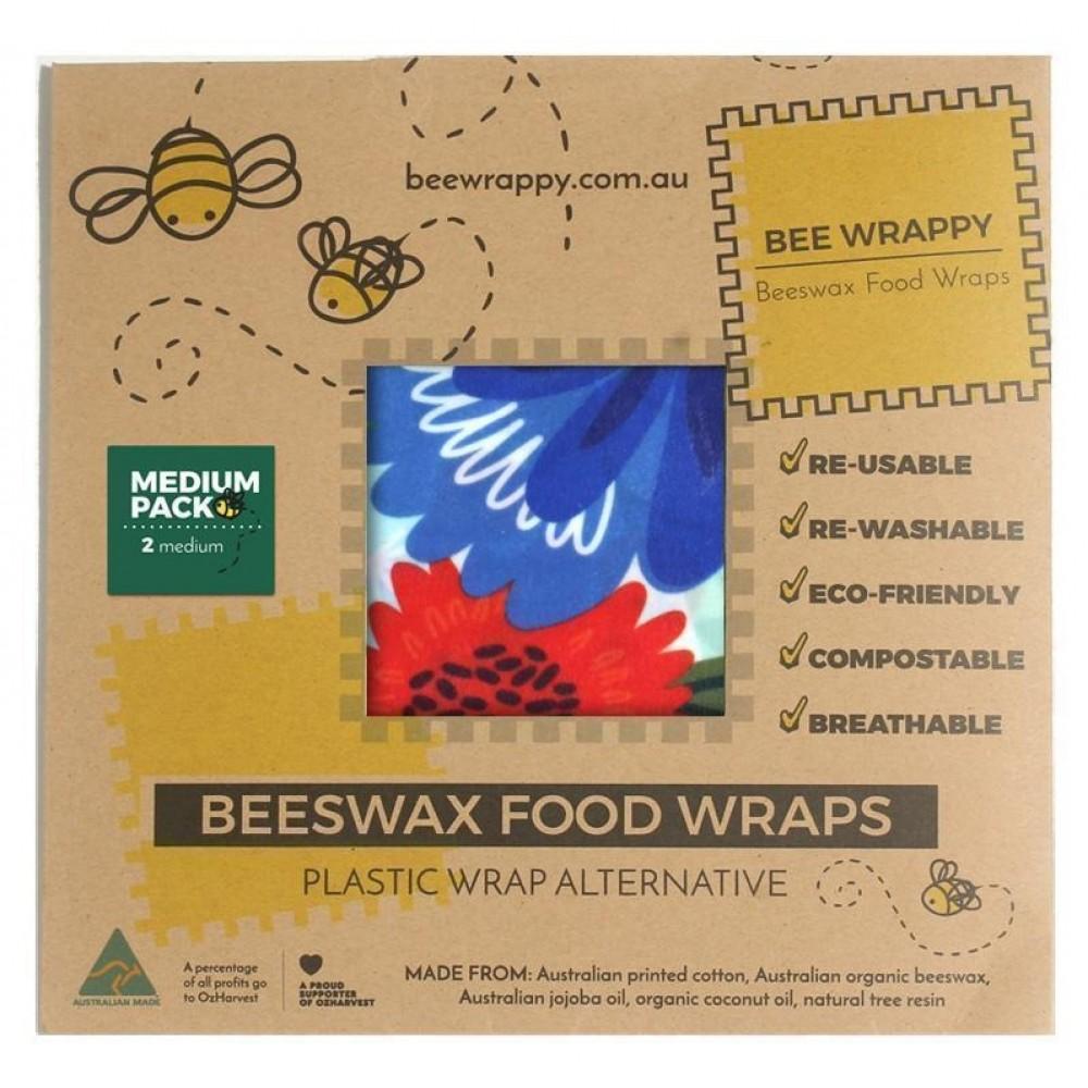 Bee Wrappy genanvendelige wraps 2 stk. medium-31