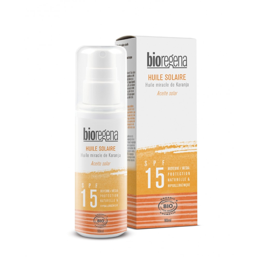 Bioregena spray solcreme faktor 15-31