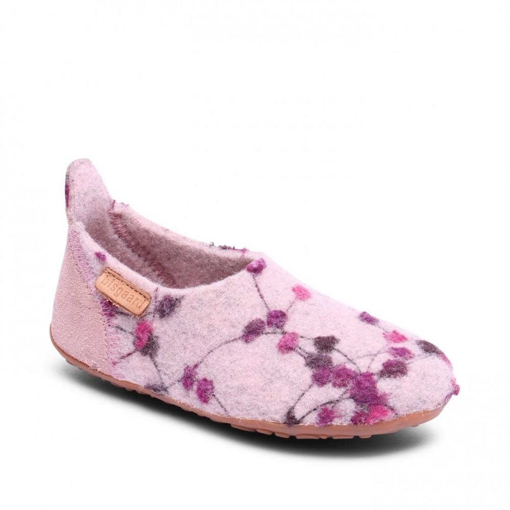 Bisgaard hjemmesko i uld rose-flowers-31