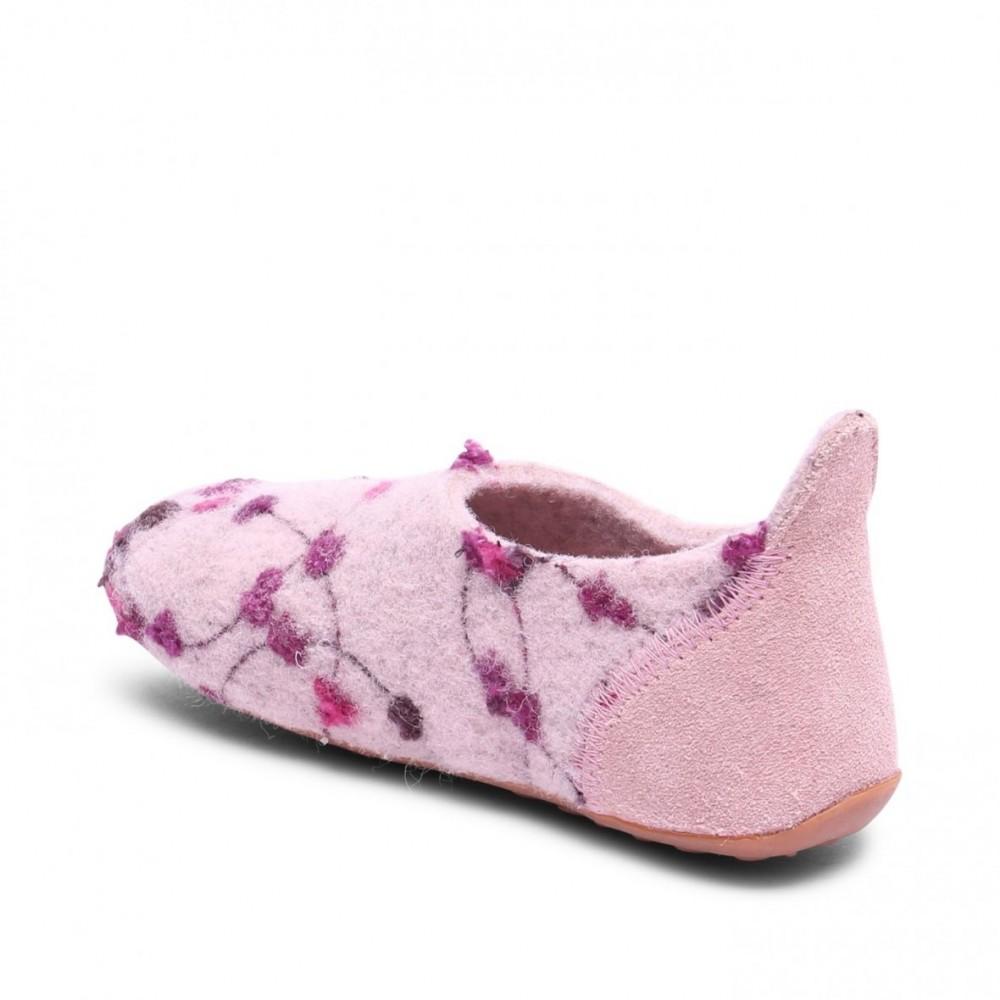 Bisgaard hjemmesko i uld rose-flowers-01