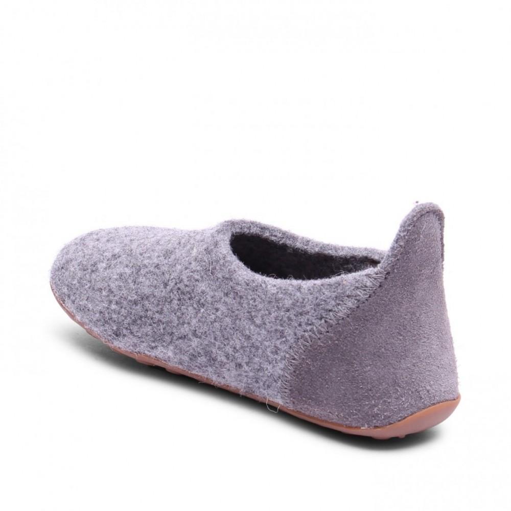 Bisgaard hjemmesko i uld grey-01