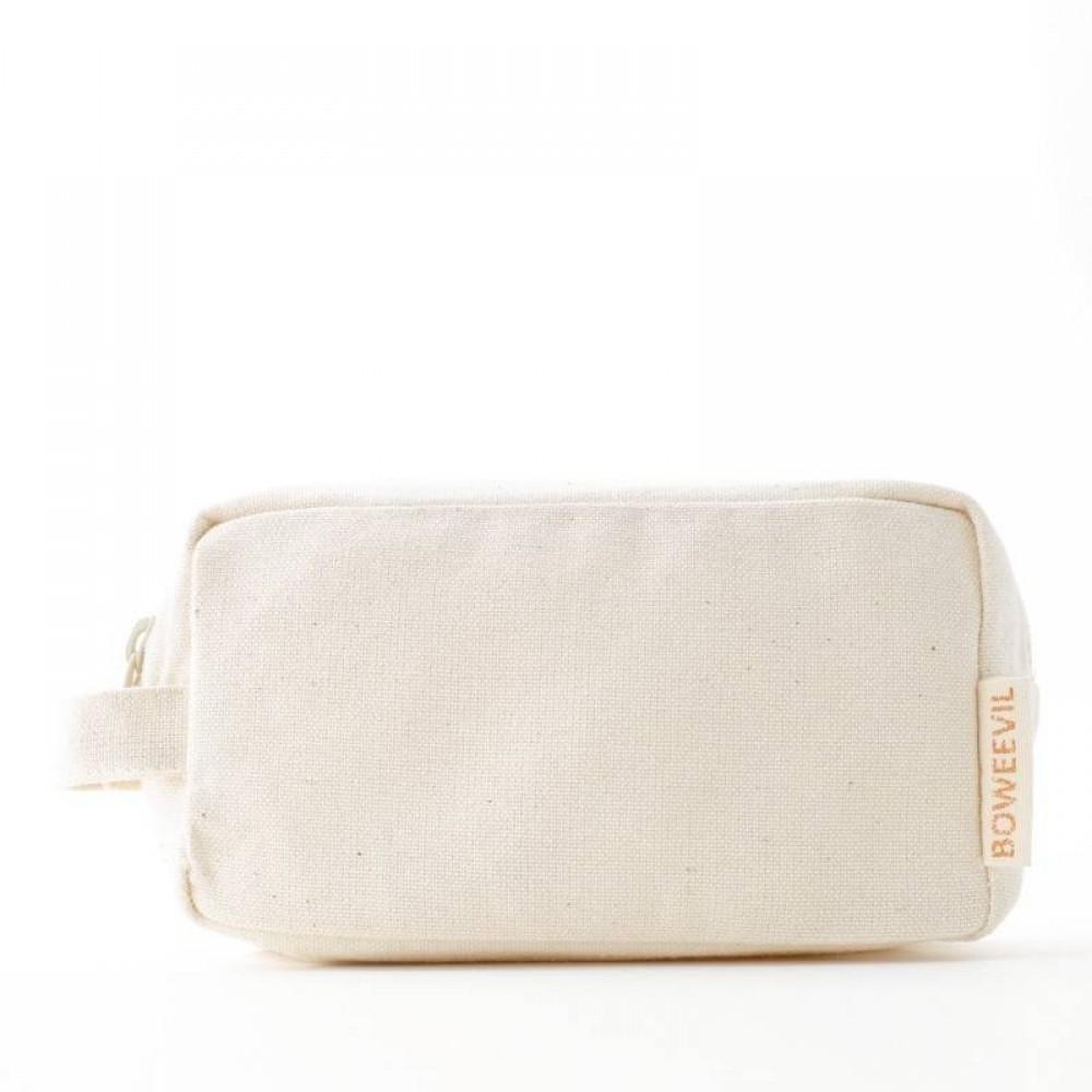 Bo Weevil lille kosmetik taske med hank natur-01