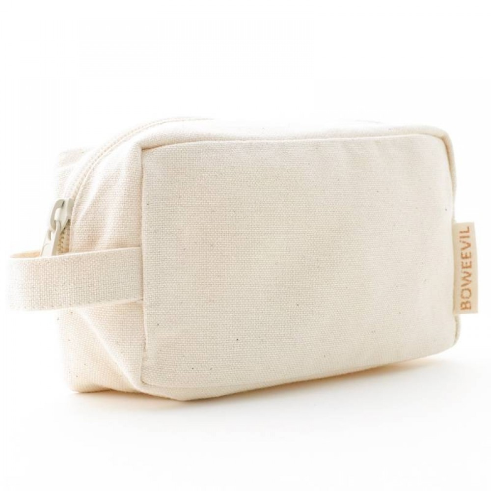 Bo Weevil lille kosmetik taske med hank natur-31
