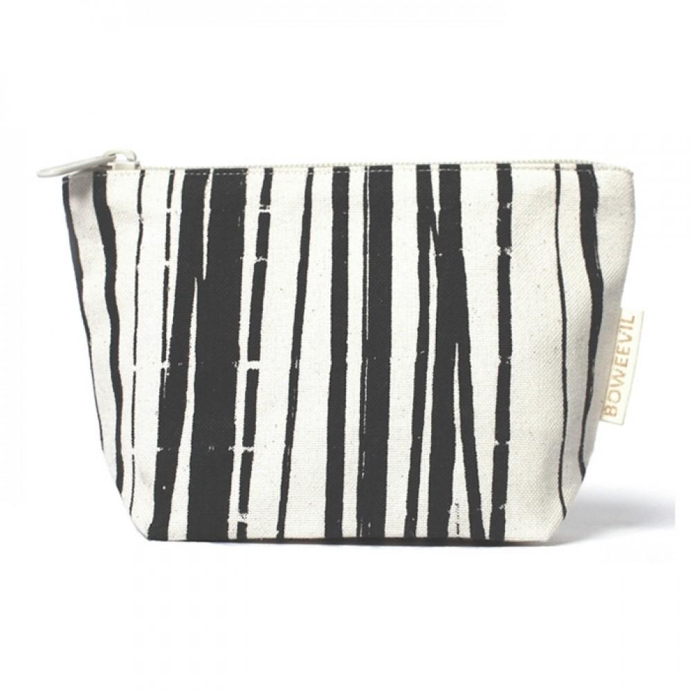 Bo Weevil mellem kosmetik taske stripes-31