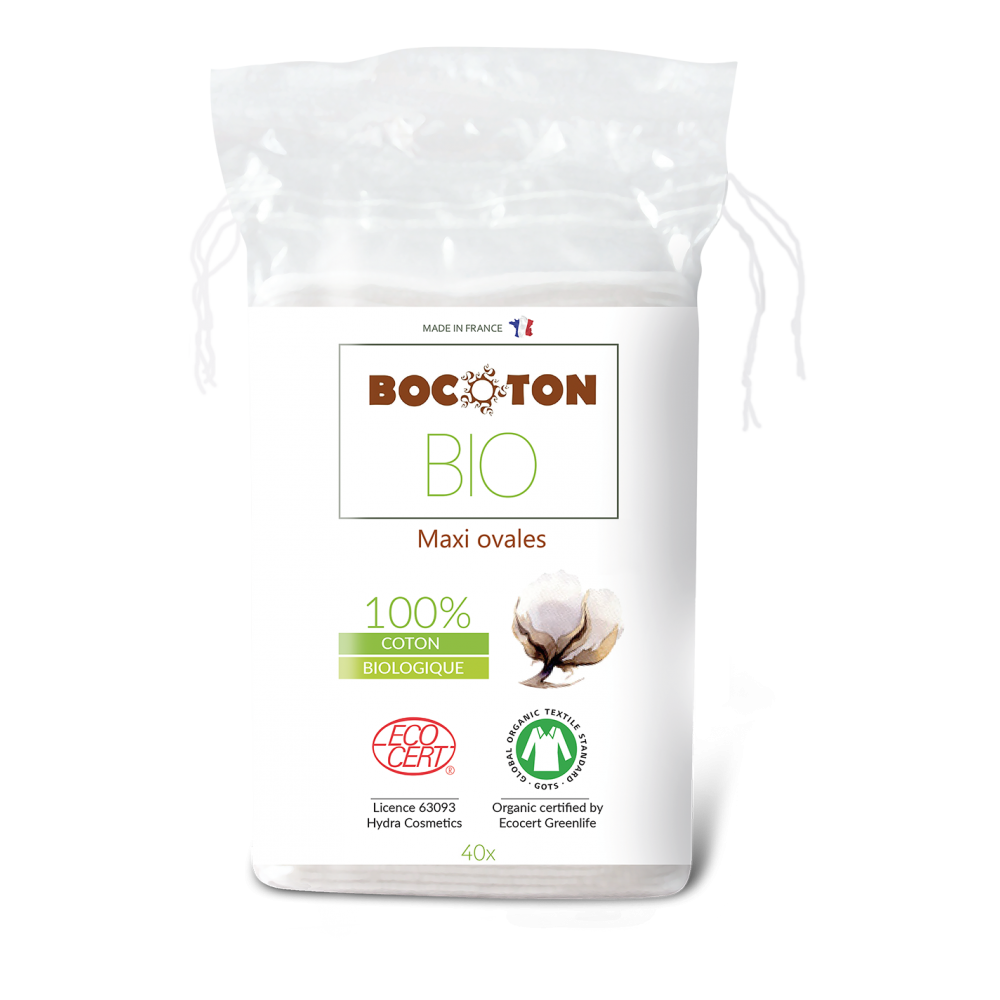 Bocoton Bio ovale maxi rondeller 40 stk.-31
