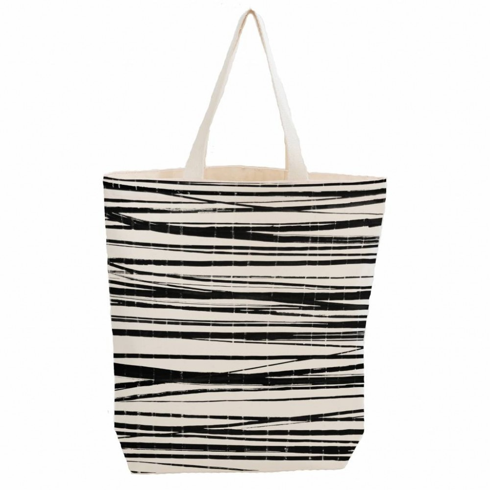 Bo Weevil shopper canvas stripes-31