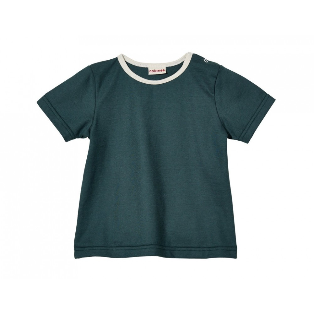 Cotonea kortærmet t-shirt marine-31