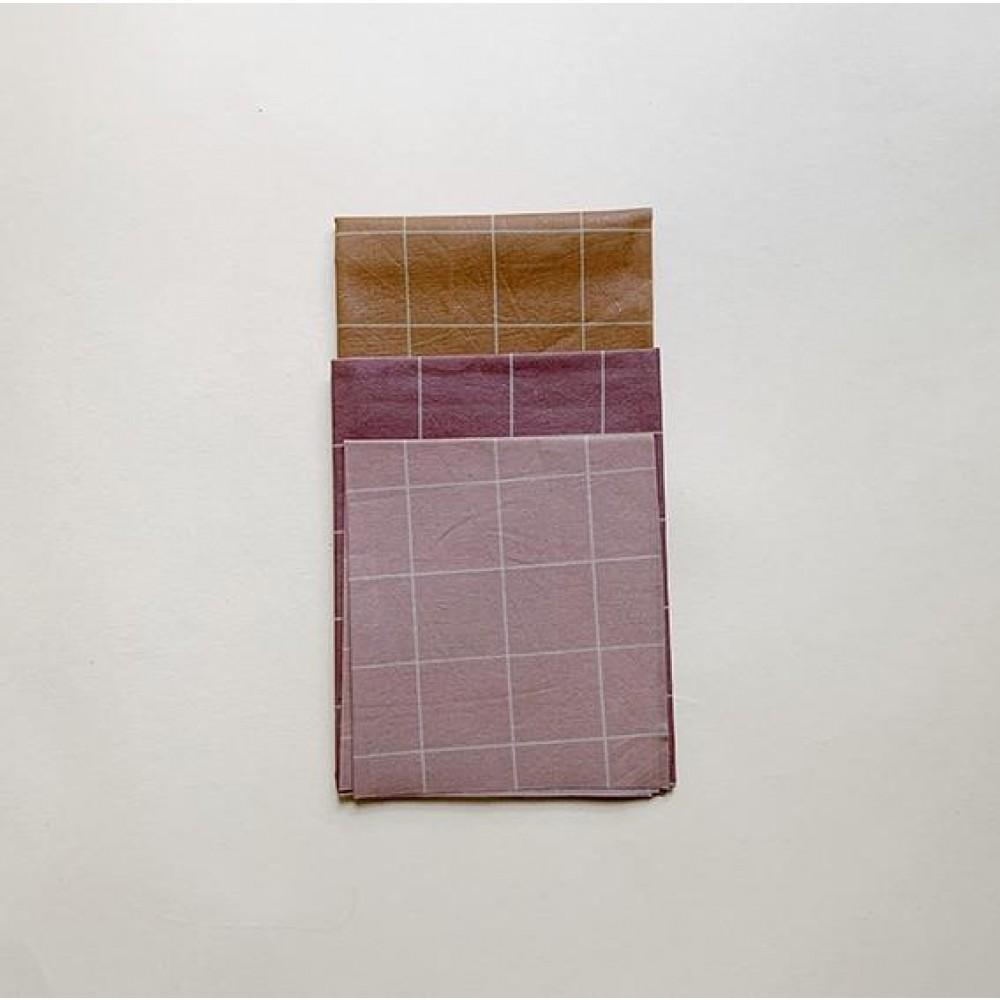 Haps Nordic bivoks wraps 3 pak warm colours-01