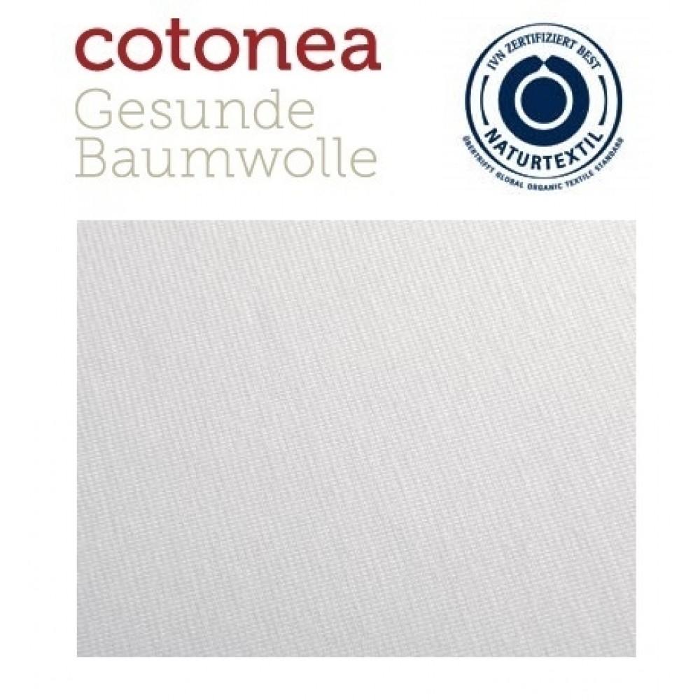 COTONEA økologisk stræklagen lys grå-31
