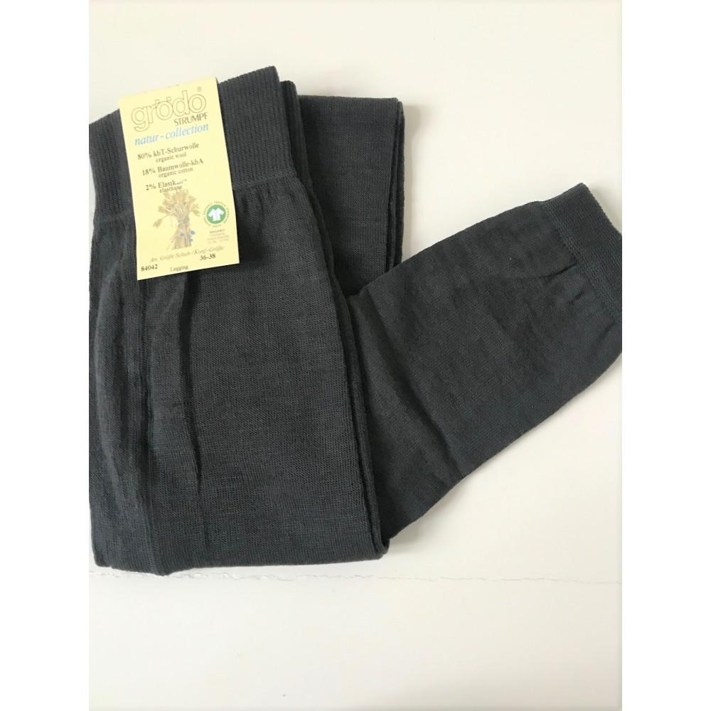 Grödo|leggings| uld and bomuld|grå eller sort-01