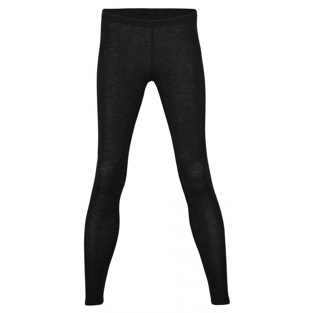 Engel dame leggings uld and silke sort-31