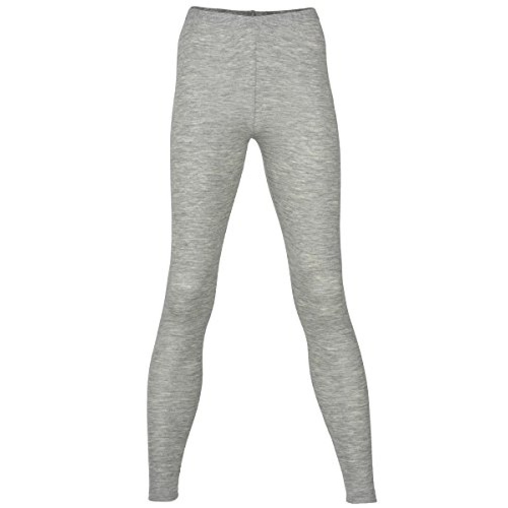 Engel dame leggings uld and silke grå-31