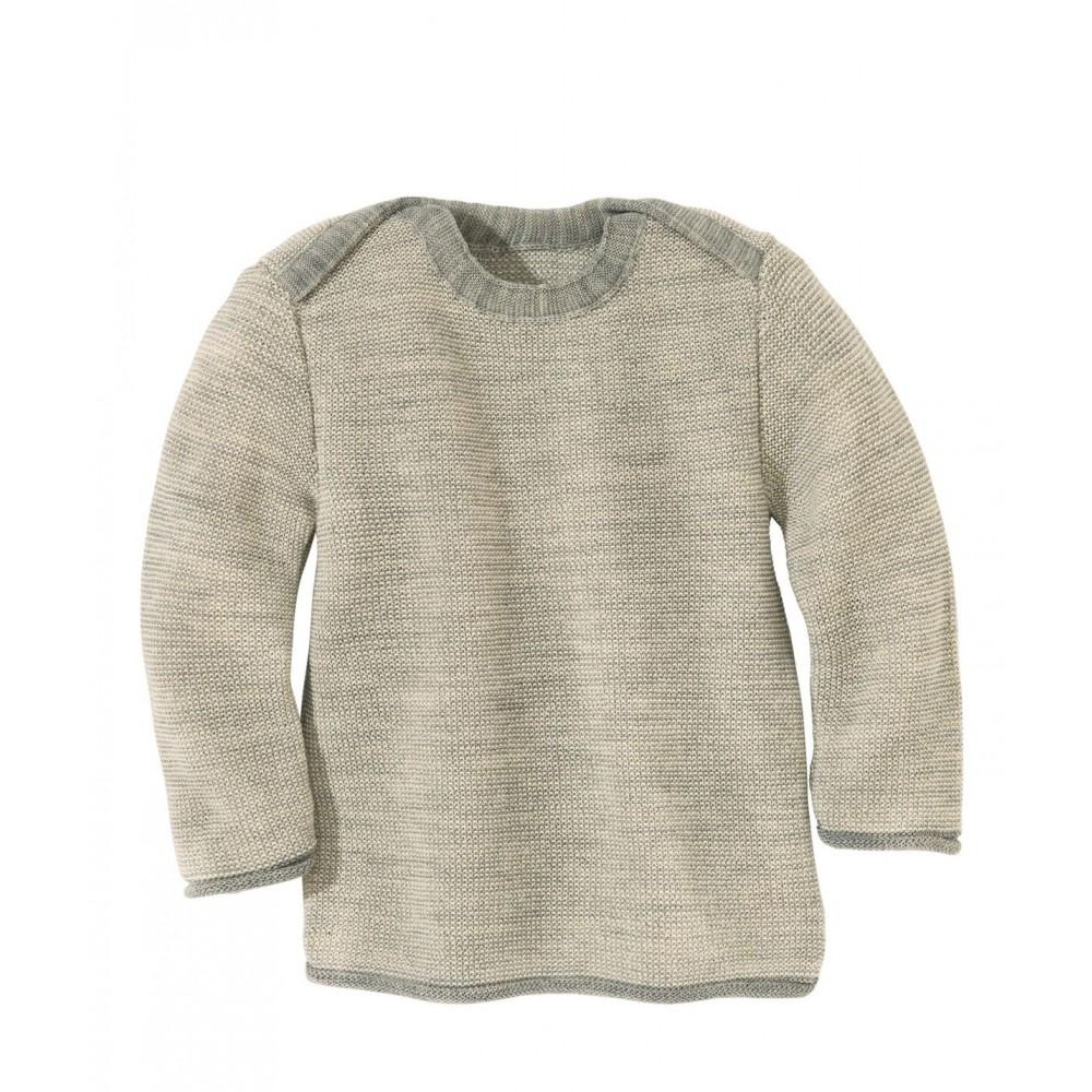 disana | striktrøje | grå/natur-31