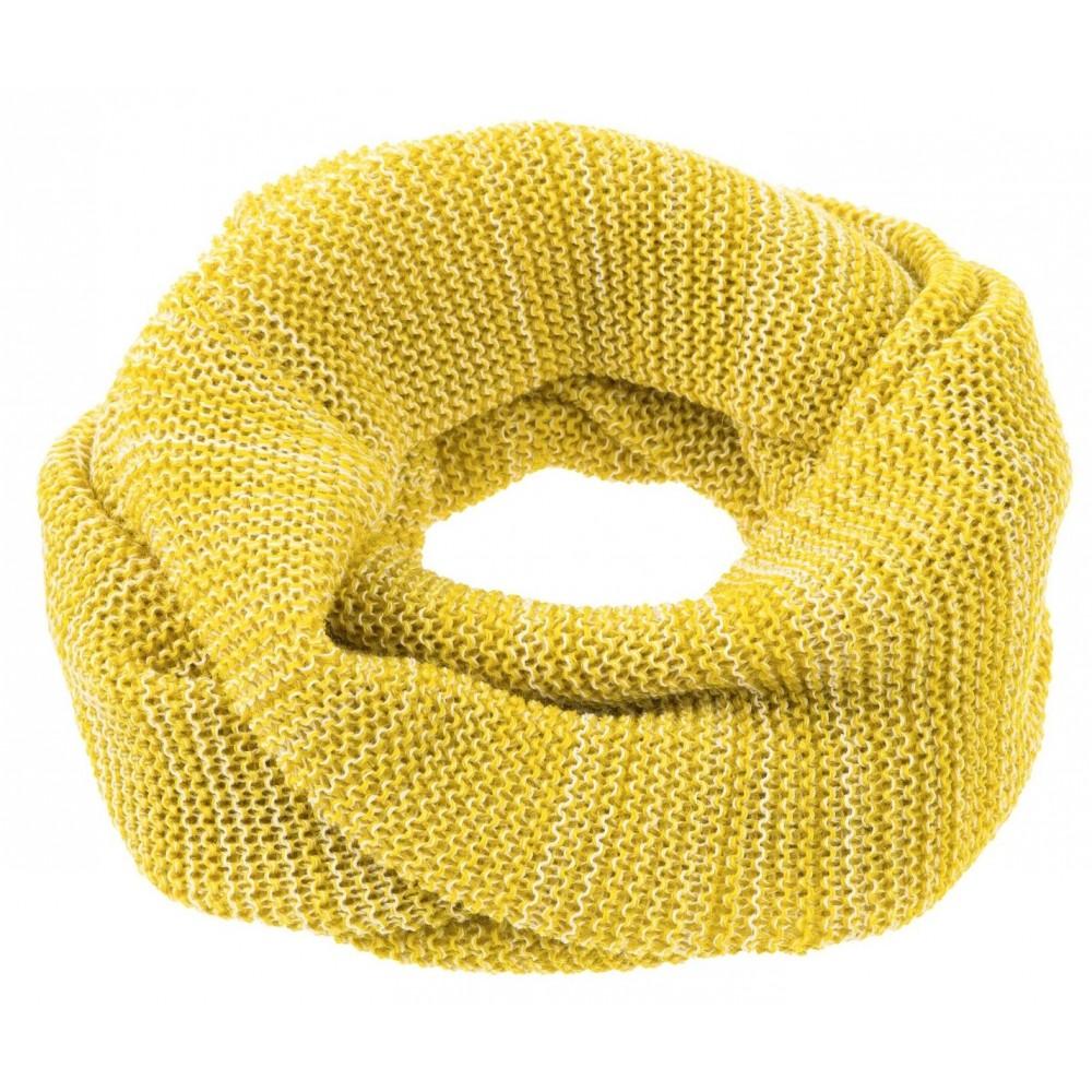 DISANA | tube halstørklæde | curry/natur melange-31