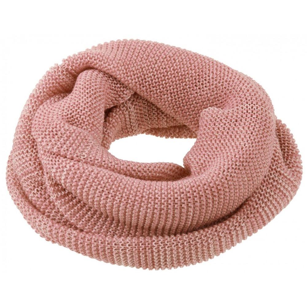 DISANA | tube halstørklæde | rosé/natur melange-31