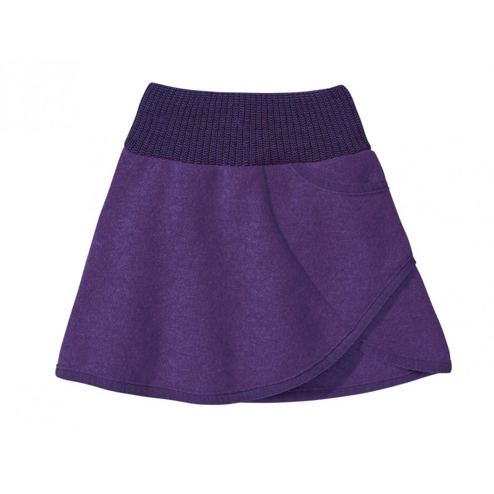 DISANA | nederdel | kogt uld | lilla-32