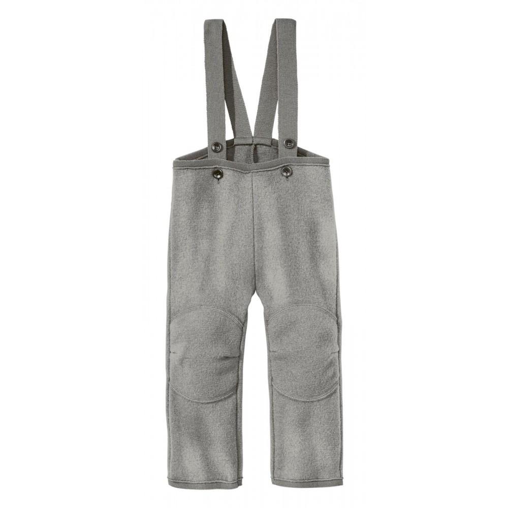 DISANA |uldbukser | kogt uld | grå-32