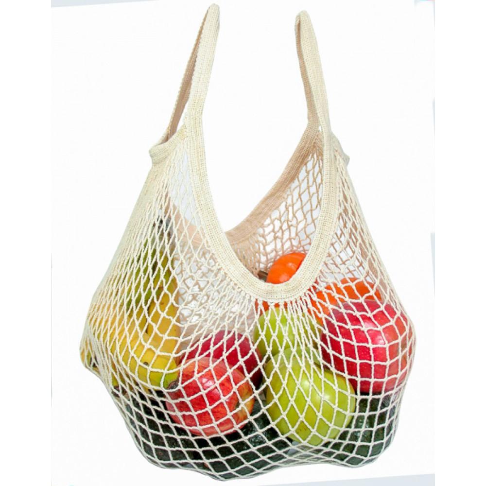 Bo Weevil stringbag granny´s hæklet net limegrøn-01