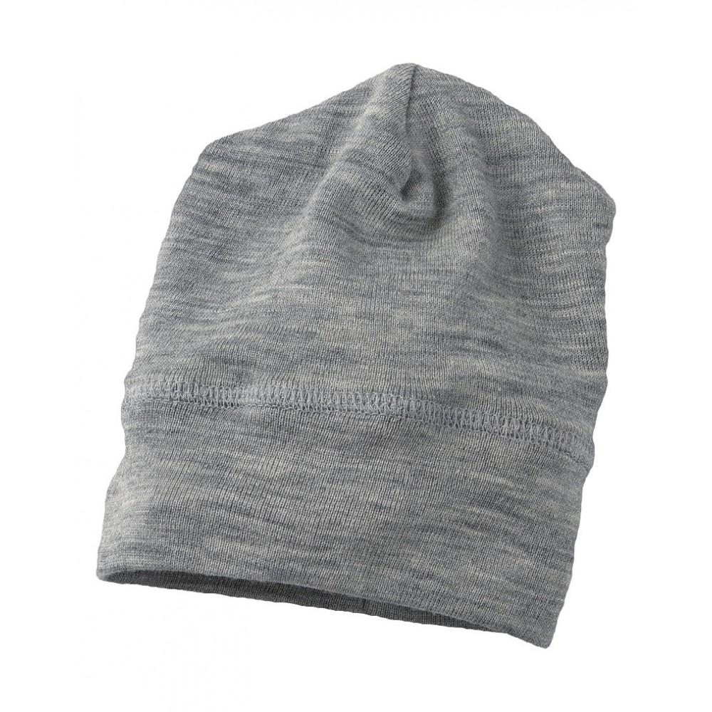 Engel babyhue uld and silke grå melange-31