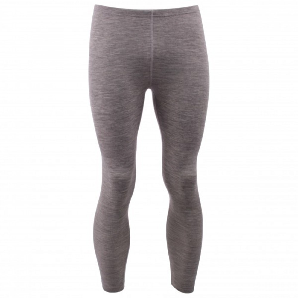 Engel herre leggings uld and silke grå-31