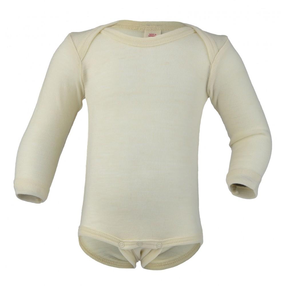Engel langærmet body ren økologisk uld-31