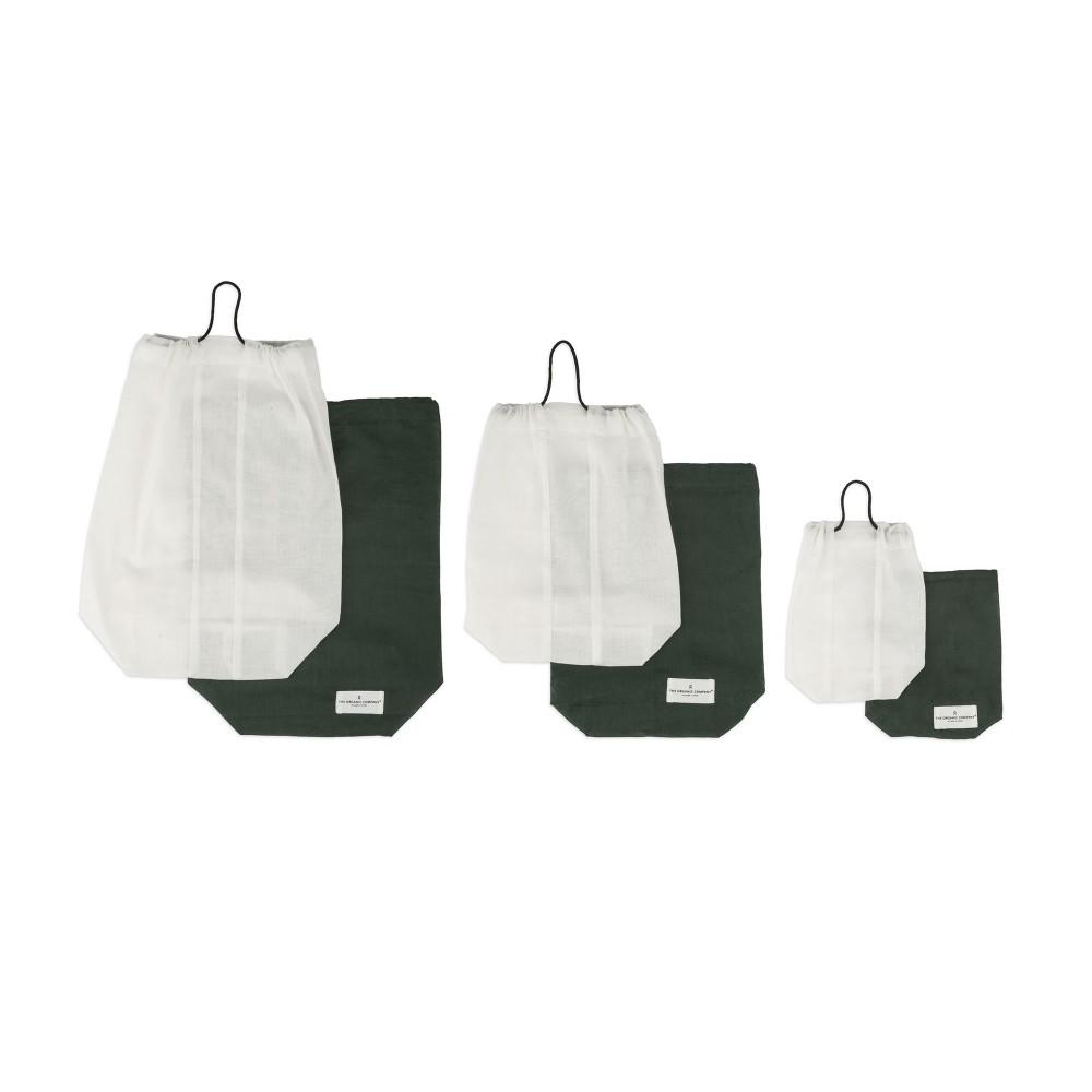 The Organic Company brødpose flere størrelser white-01