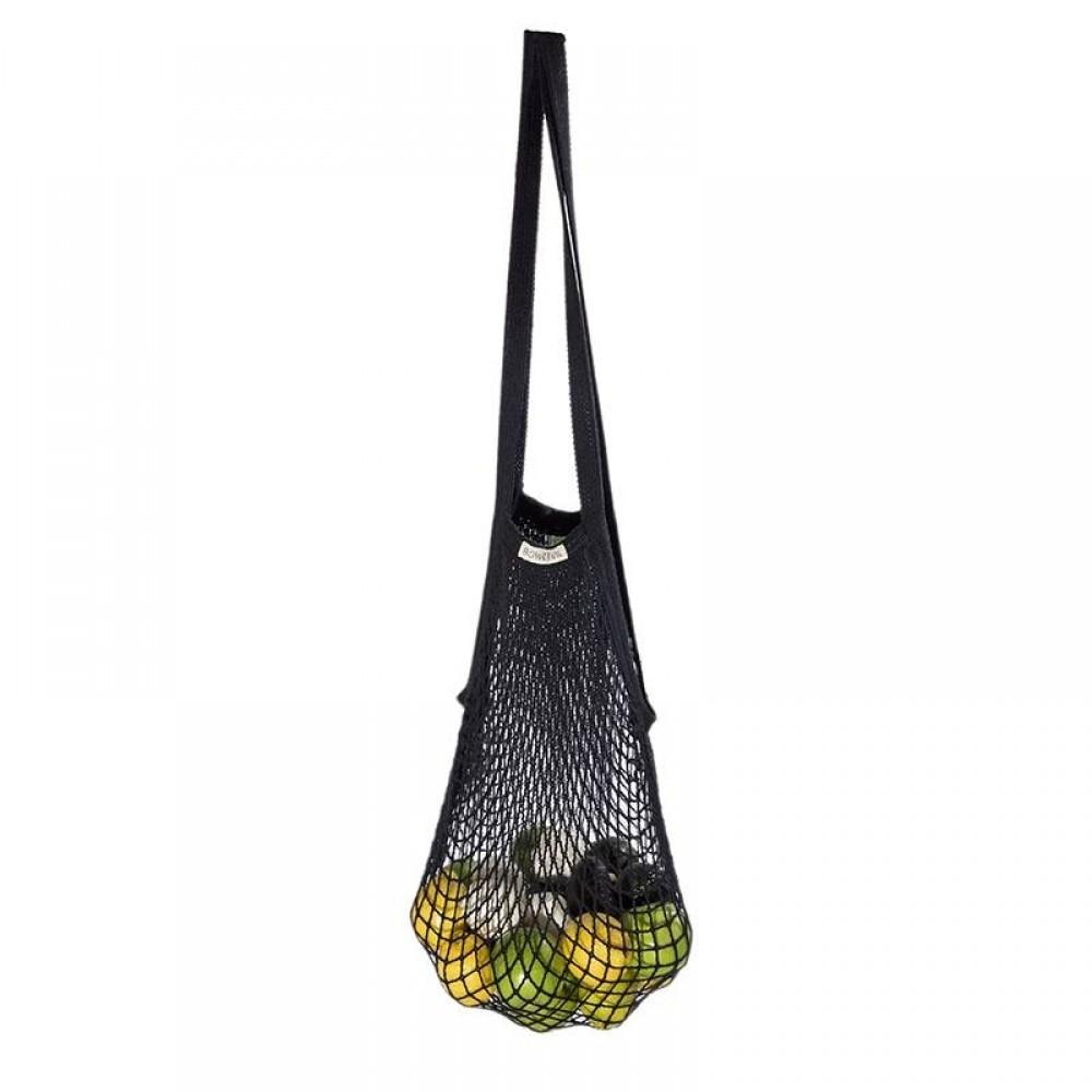 Bo Weevil stringbag granny´s ekstra lang hank sort-01