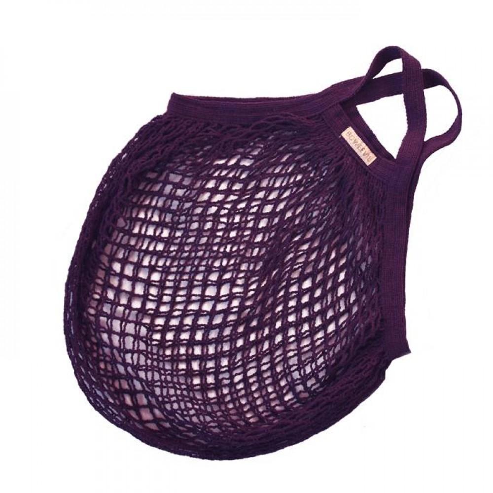 Bo Weevil stringbag granny´s hæklet net lilla-31