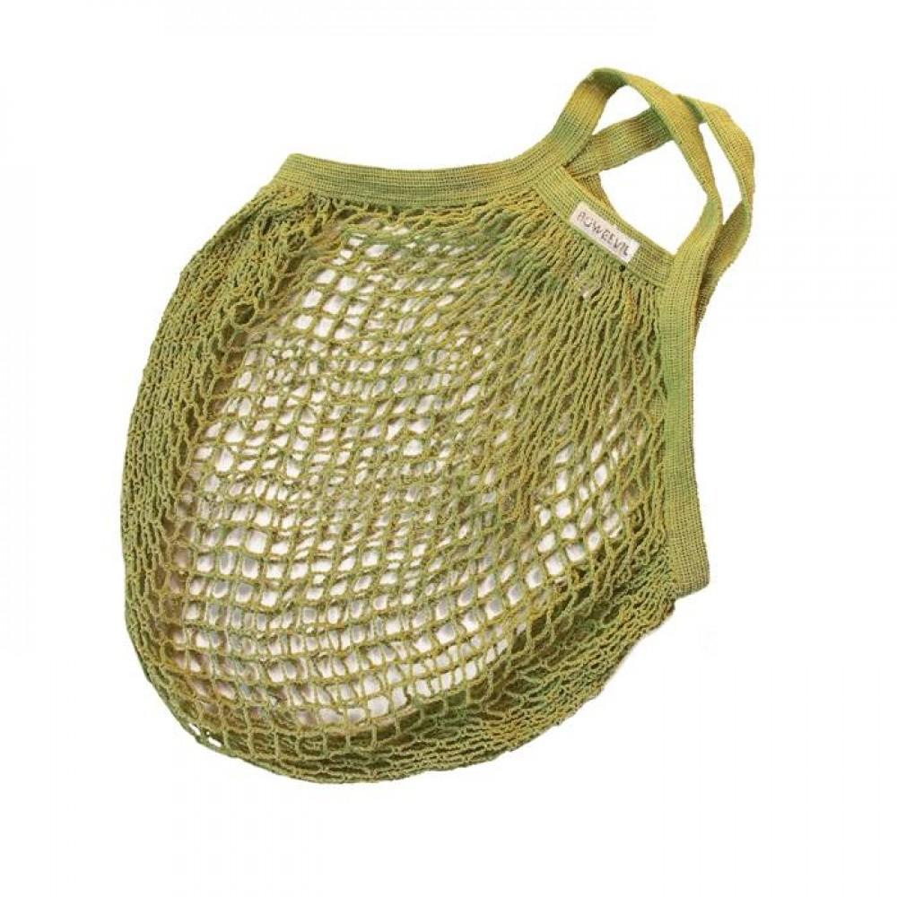 Bo Weevil stringbag granny´s hæklet net limegrøn-31