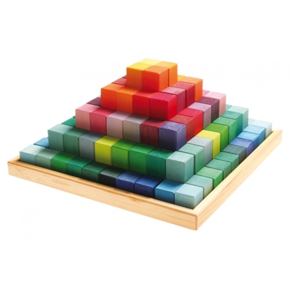 Grimms large stepped pyramid kæmpe sæt-31