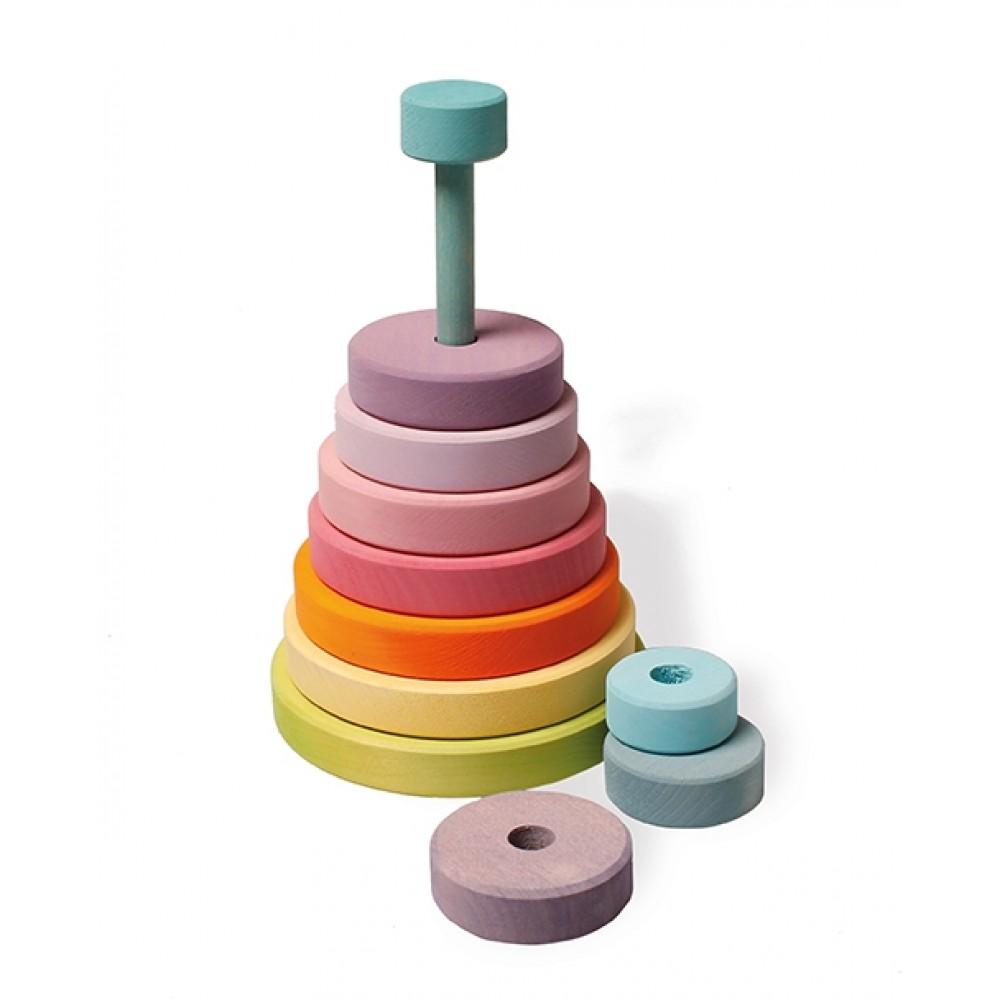 Grimms stort stabeltårn pastelfarver-01