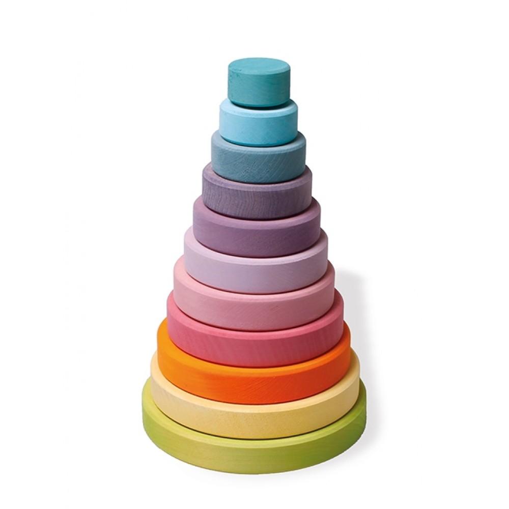 Grimms stort stabeltårn pastelfarver-31