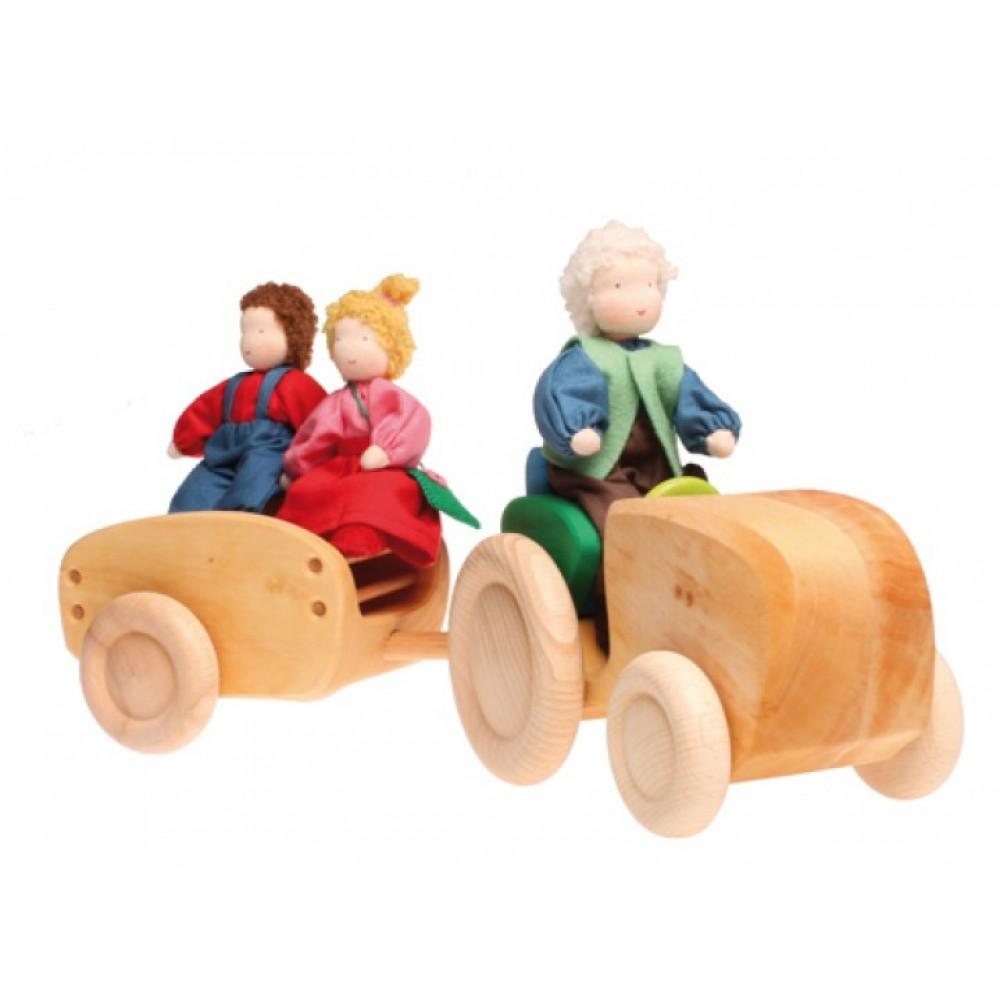Grimms traktor med anhænger-03