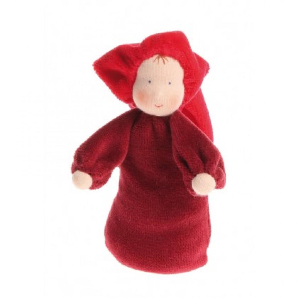 Grimms håndlavet dukke rød-31