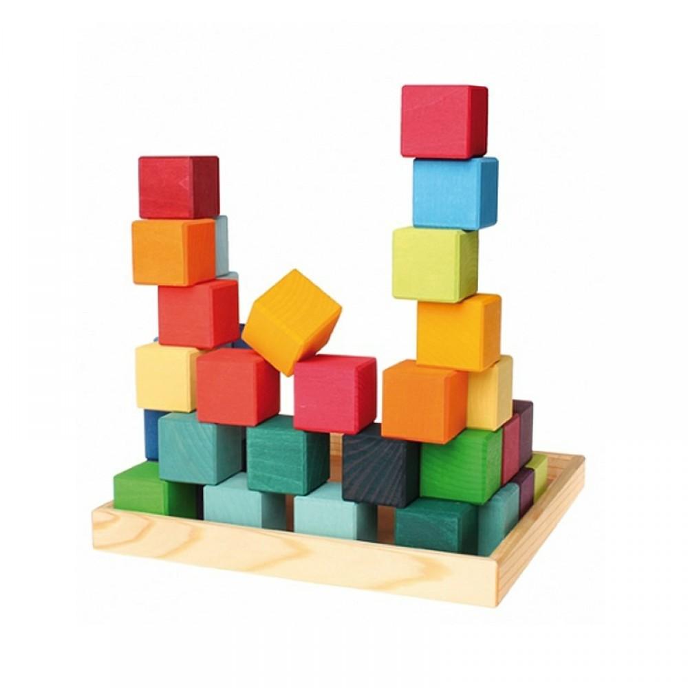 Grimms 36 byggeklodser i trækasse-01