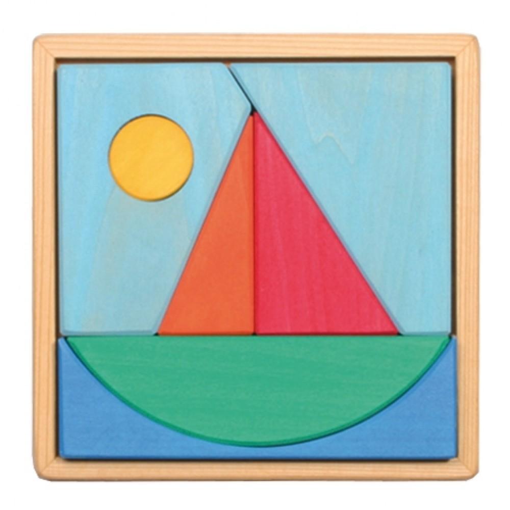 Grimms puslespil 7 dele båd-31