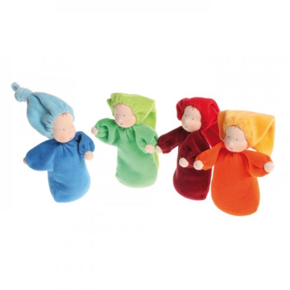 Grimms håndlavet dukke rød-01