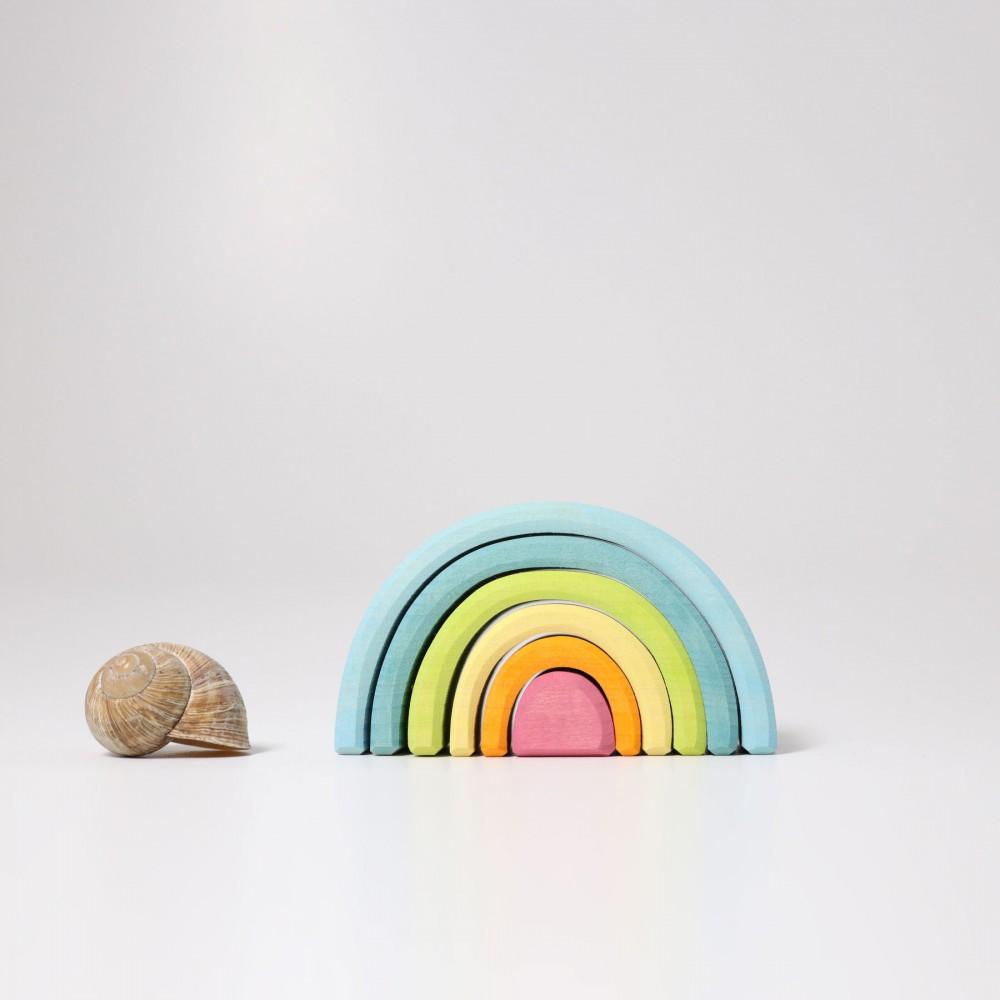 Grimms lille regnbue 6 dele pastelfarver-01