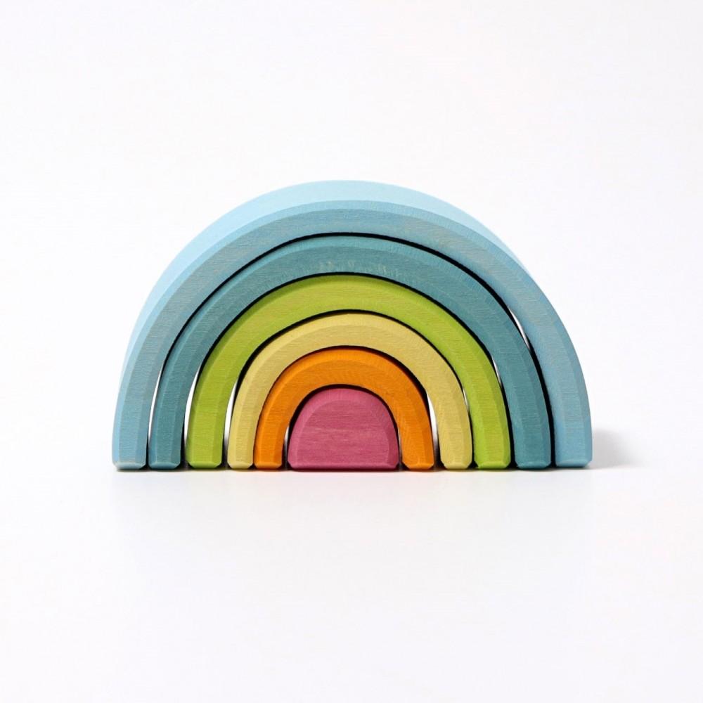 Grimms lille regnbue 6 dele pastelfarver-31