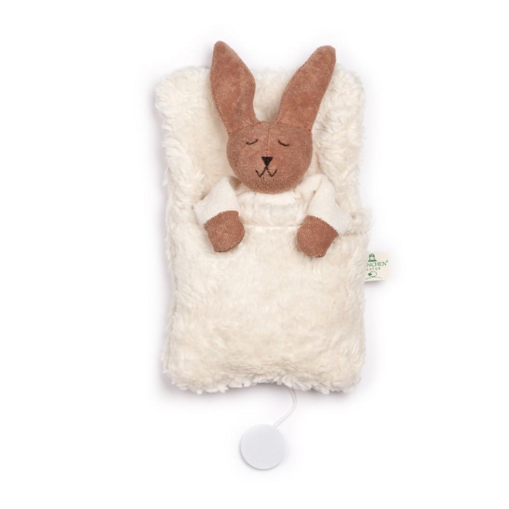 Nanchen kanin i sovepose med godnat musik-31