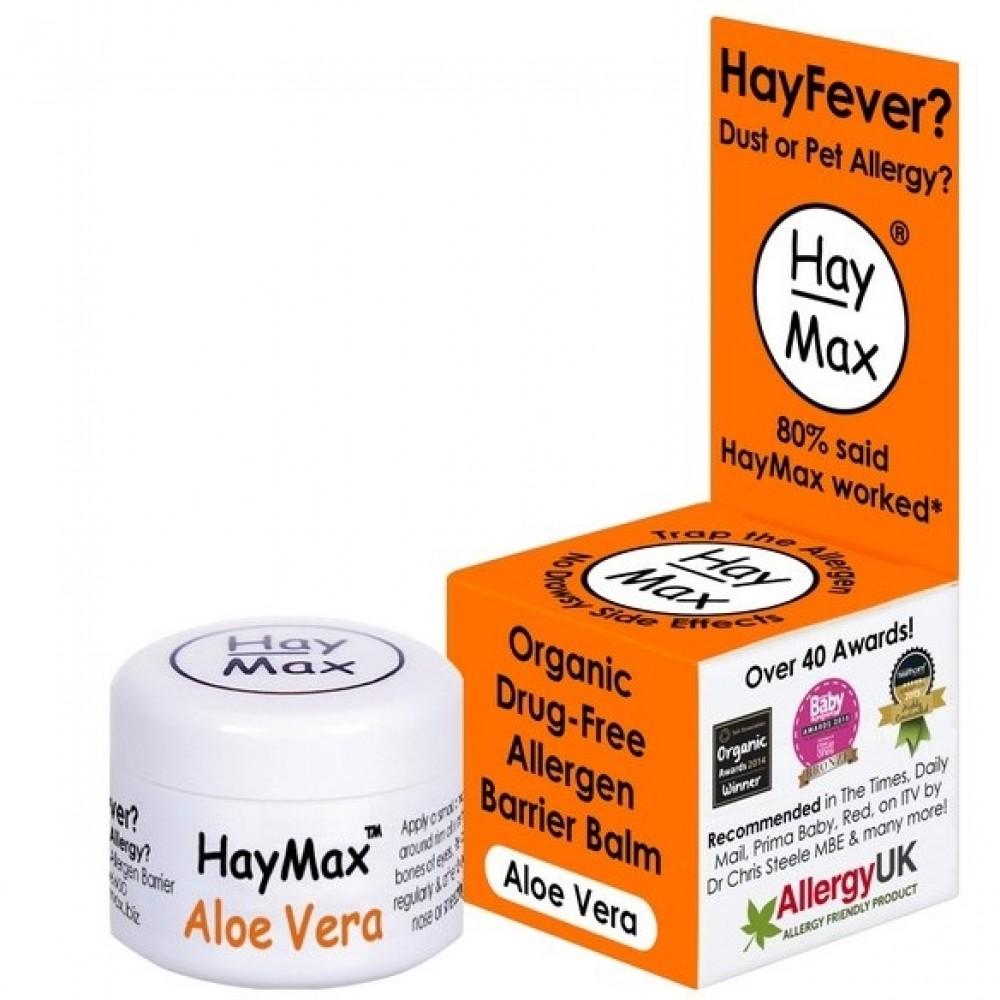 Hay Max økologisk barriere balsam mod allergi aloe vera-31