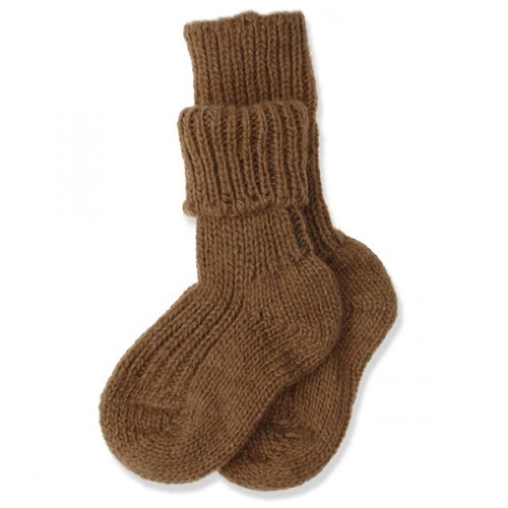 Hirsch sokker kameluld-31