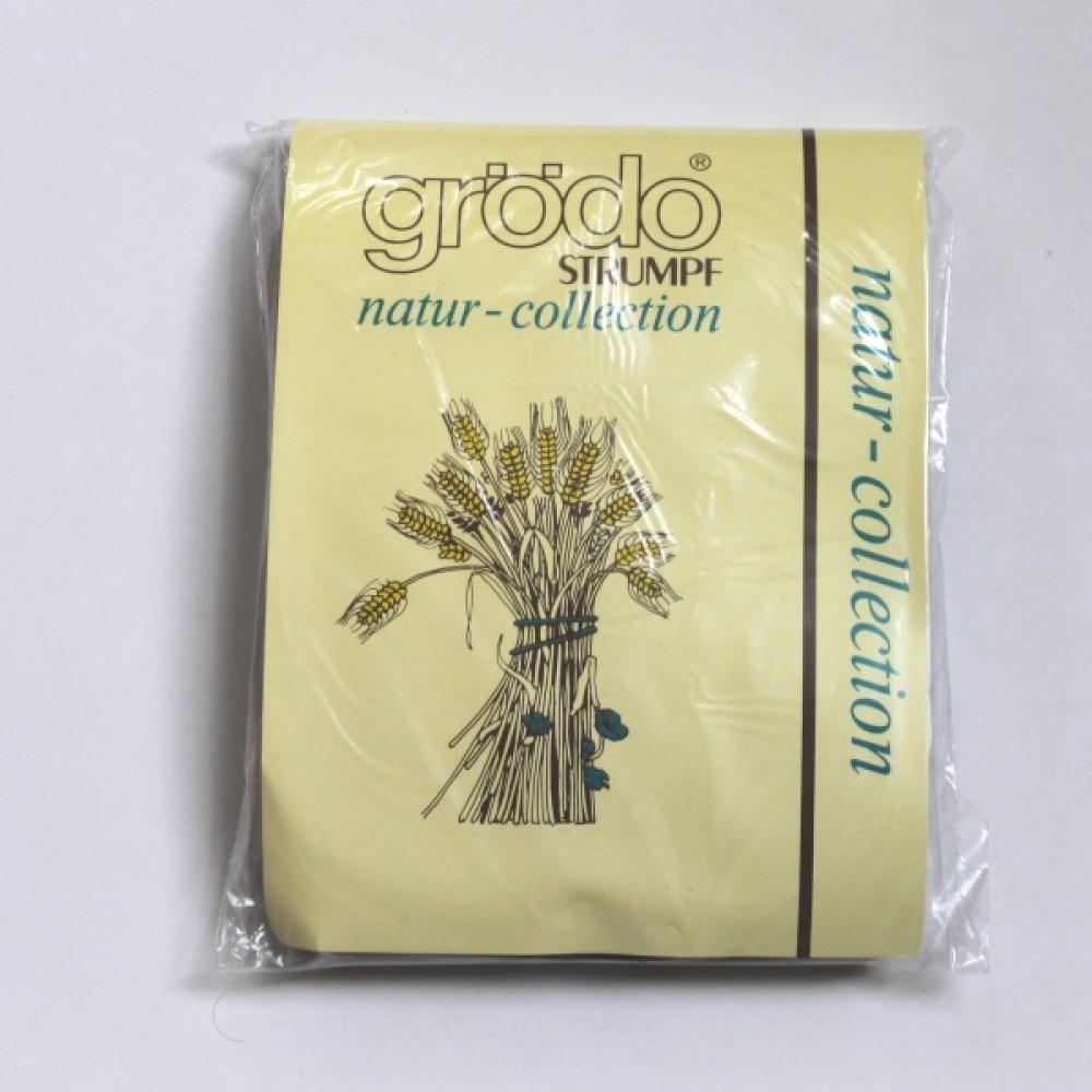 Grödo|strømpebukser|bomuld microfiber|chokoladebrun-01