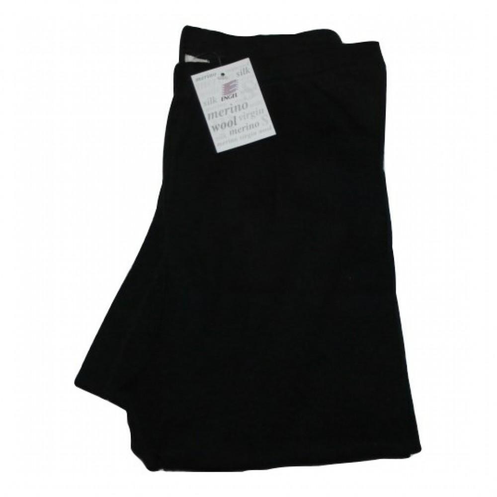 Engel herre leggings i økologisk uld and silke sort-01