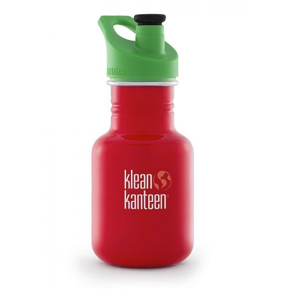 Klean Kanteen 355 ml. drikkedunk Mineral Red sportscap-31