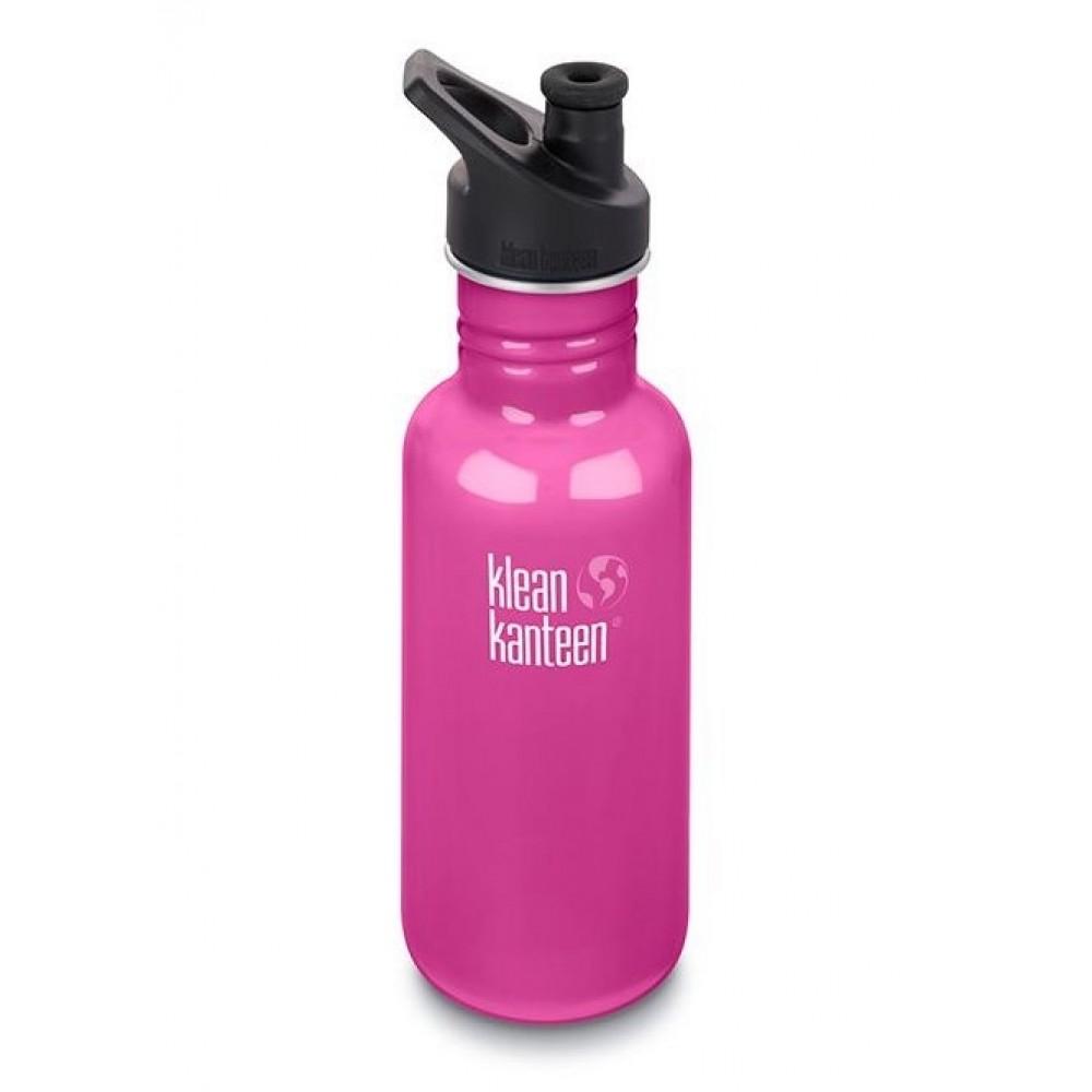 Klean Kanteen 532 ml. drikkedunk Wild Orchid sportscap-31