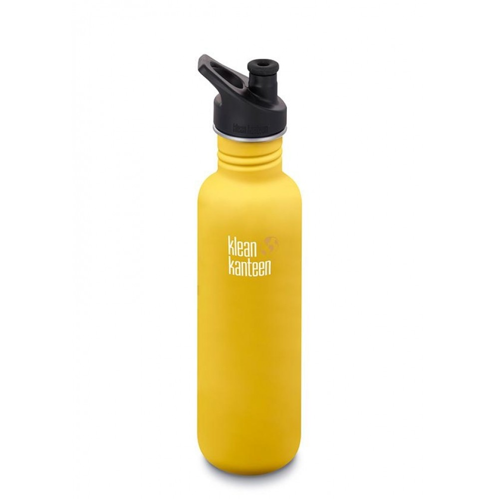 Klean Kanteen 800 ml. Lemon Curry sportscap-31