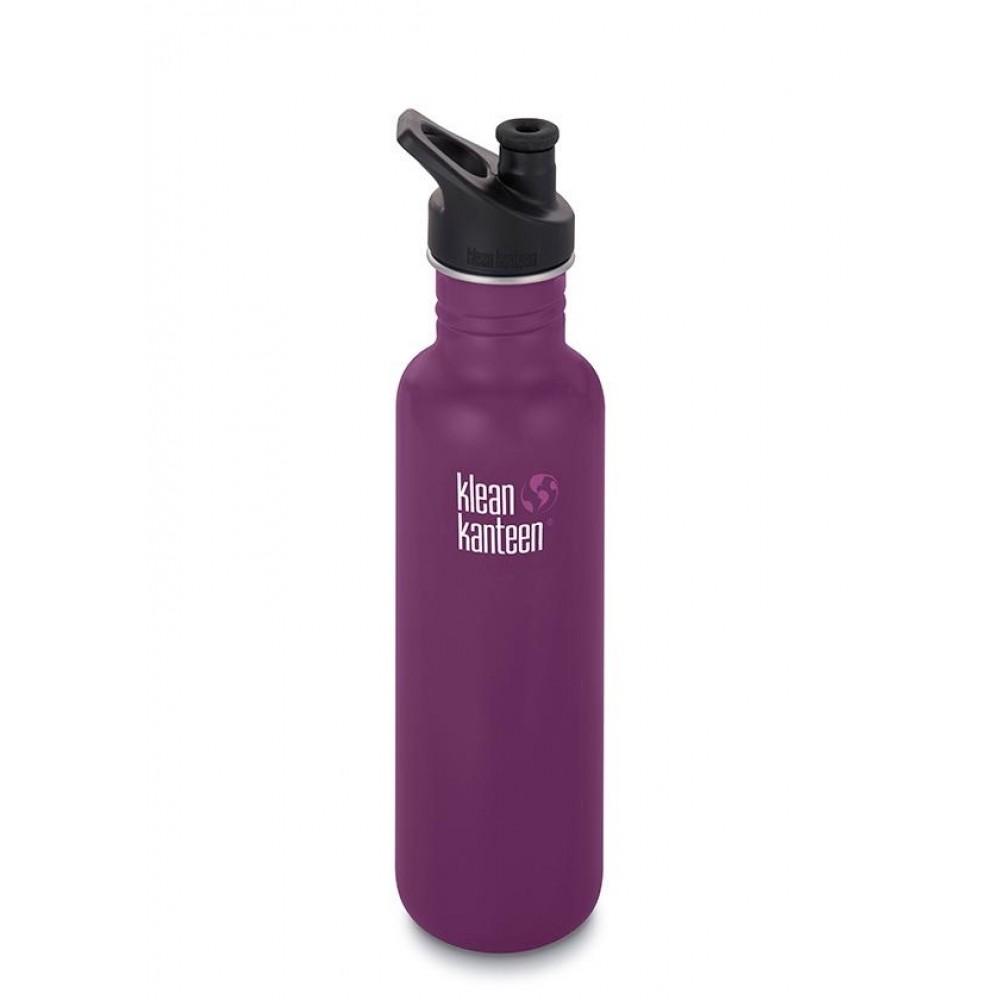 Klean Kanteen 800 ml. Winter Plum sportscap-31