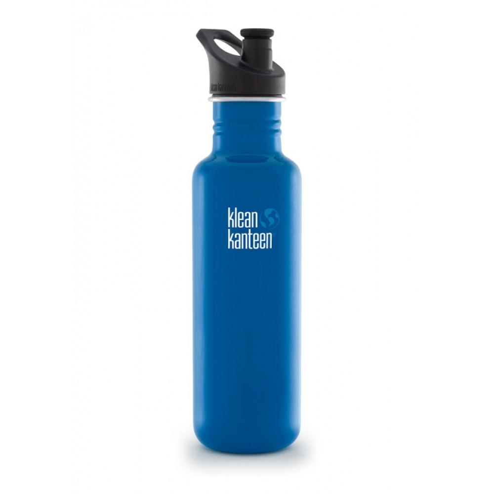 Klean Kanteen 800 ml. Blue Planet sportscap-31